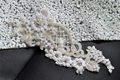 TOPQUEEN S91A Free shipping Stock DIY Formal Wedding  Beading flowers  Applique Evening Dresses Trimming