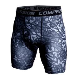 Camoflage шорты для бега мужские тренажерные залы быстросохнущие укороченные компрессионные штаны мужские шорты для фитнеса летние спортивные...