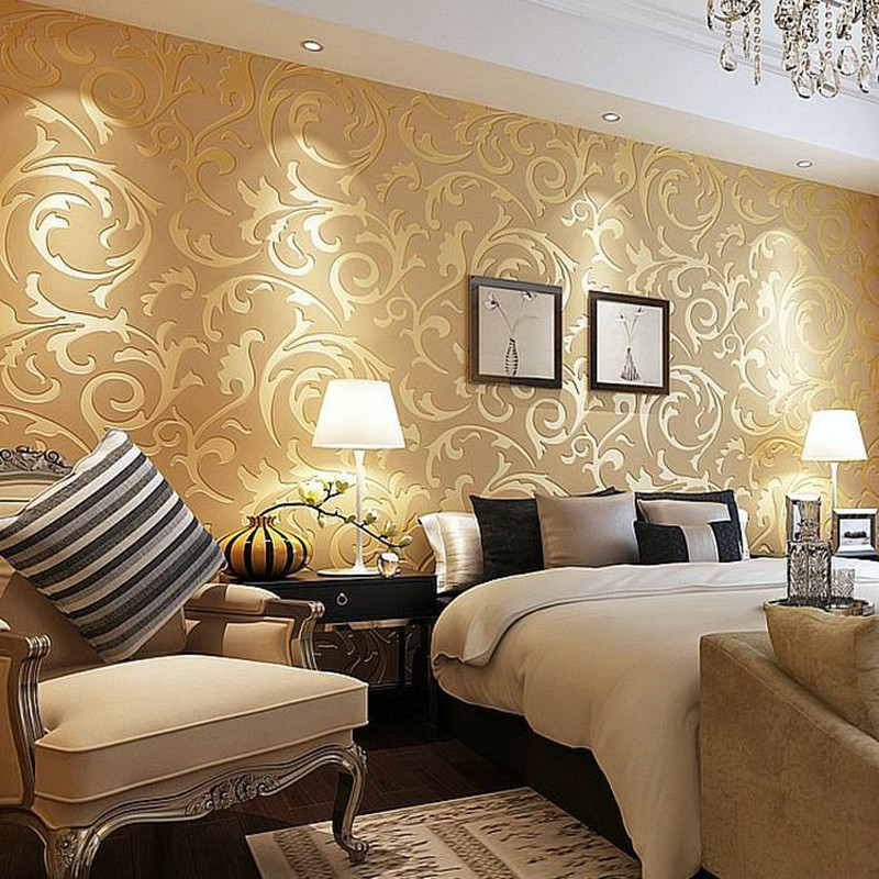 YOUMAN Luxury 3D European Styles Wallpapers Non-woven Wall Paper Rolls Wallpapers For Living Room Photo Wallpapers Decoration home improvement decorative painting wallpaper for walls living room 3d non woven silk wallpapers 3d wall paper retro flowers