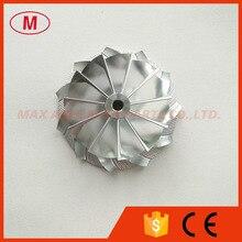 K04 5306 123 2014 46.39/60.00 millimetri 11 + 0 bladesUpgrade Ad Alte Prestazioni Turbo Billet ruota del compressore/Di alluminio 2618 per 53049700064