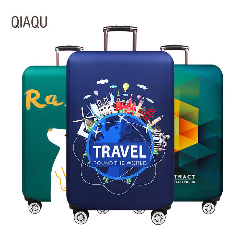 Thicker Starry Travel Suitcase Cover Protector Luggage Cover 18-32 Inch Trolley Elastic Dust Protection Covers Case Cover