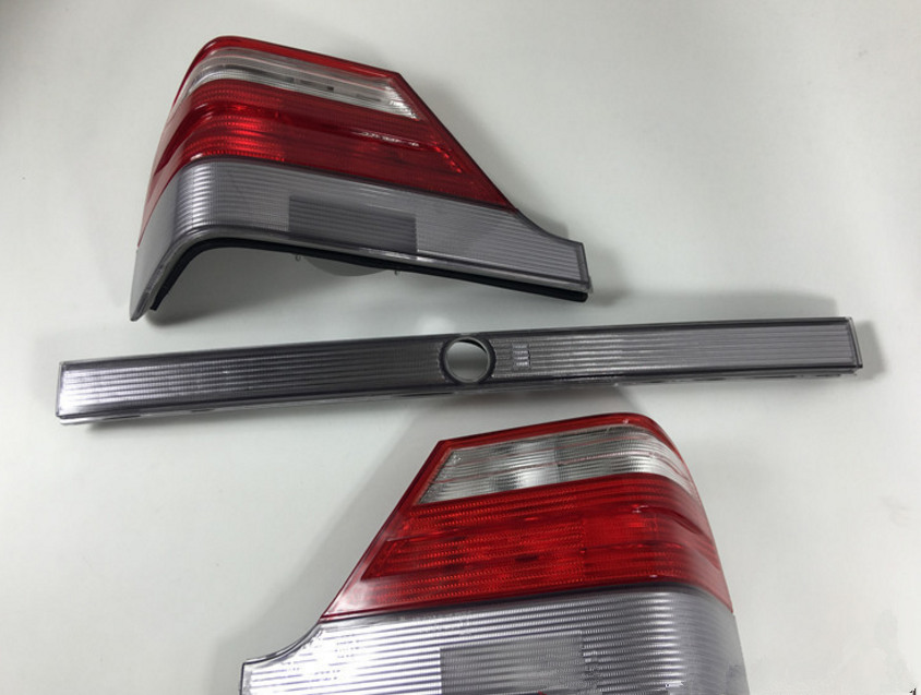 RQXR LED rear light + brake light + turn signal rear bumper light reflector for Mercedes Benz S Class W140 S280 S320 S350 S500