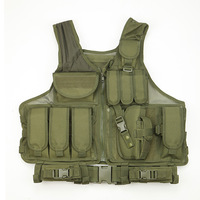 Military Hunting Vest Paintball Airsoft Molle Tactical Vest Army Combat Uniform Military Tactical Hunting Vest