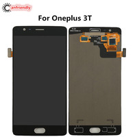 For OnePlus 3T A3010 LCD Display Touch Screen Digitizer Assembly Replacement Glass Panel For One Plus