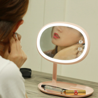 Touch Screen LED Makeup Mirror Light USB Charging 50LEDs Desk Lamp Professional Health Beauty Facial Cosmetic
