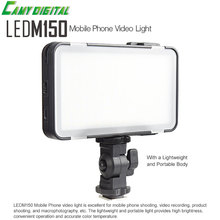 Godox LEDM150 Mobile Phone Video Light Max Power 9W 5600K with USB power Charge Socket For Portable Digital Camera Camcorder DV