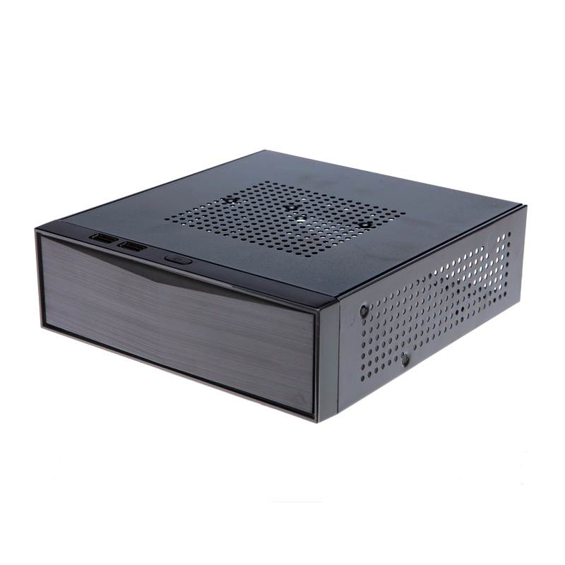M05 MD03 MD01 Computer shell  ITX Chassis small mini  horizontal for htpc small computer case new small horizontal mini itx htpc chassis include power supply aluminum computer case