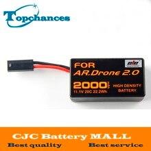 Bateria para Parrot Alta Capacidade 2000 Mah 11.1 V 20c 22.2wh Poderoso Li-polímero Ar. Drone2.0 Quadcopter