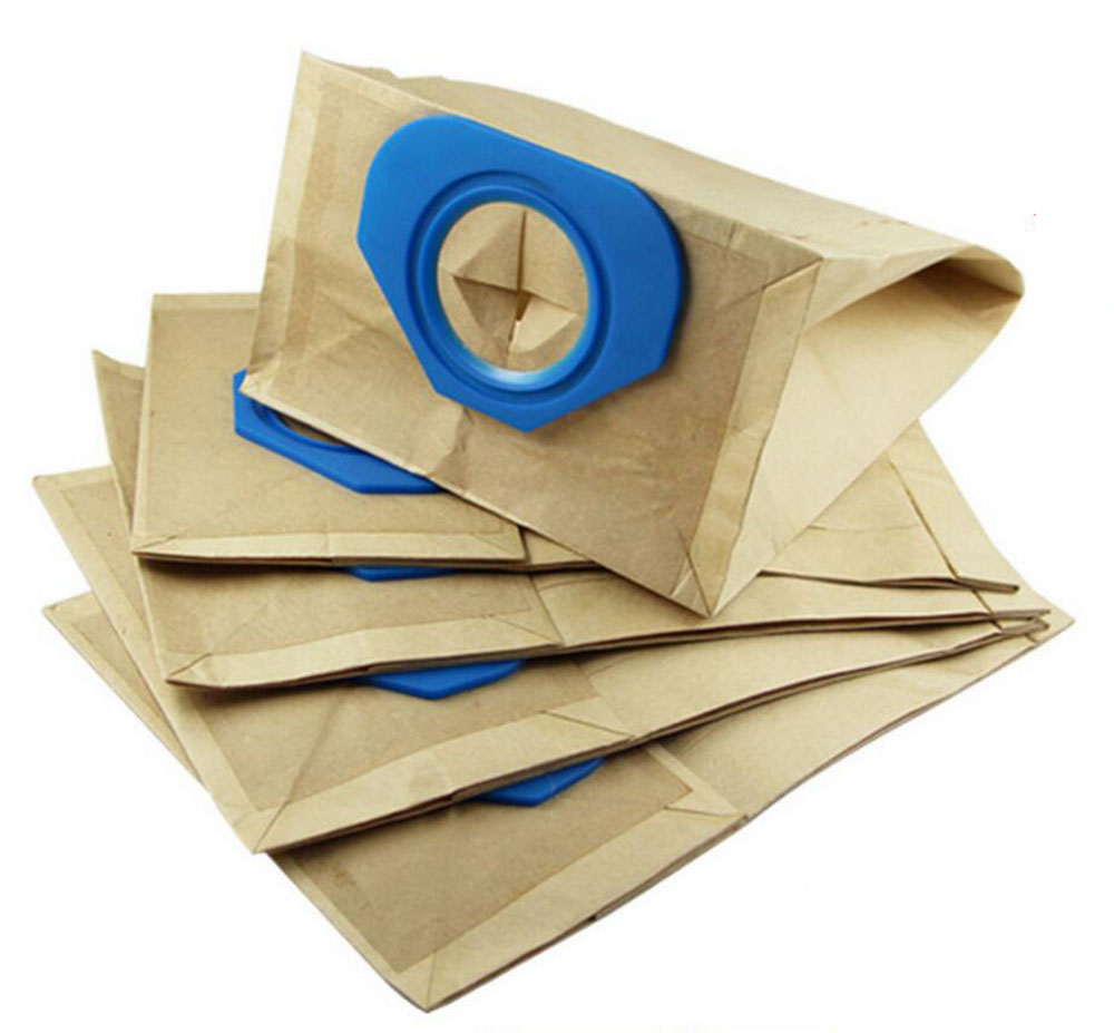 5 Bags Advance Vacuum Bags for Nilfisk GM80, GS80, GM80CR GM90, GS90, CFM3101, Dust Collection Paper Bags Replace Part# 81620000