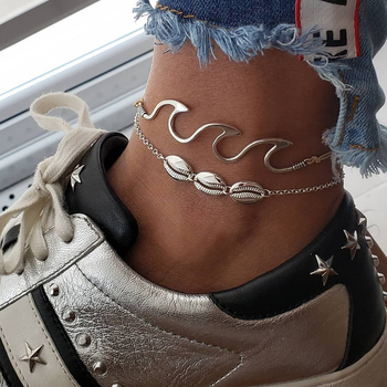 New Bells Round Boho Foot Chain Ankle Summer Bracelet Charm Anklet 3