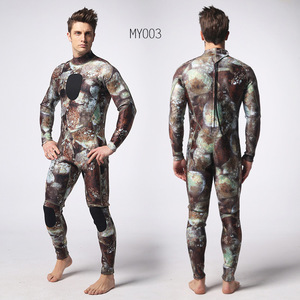 Image 5 - 3mm scuba diving suit SCR chloroprene rubber submersible surfers to prevent cold and warmth