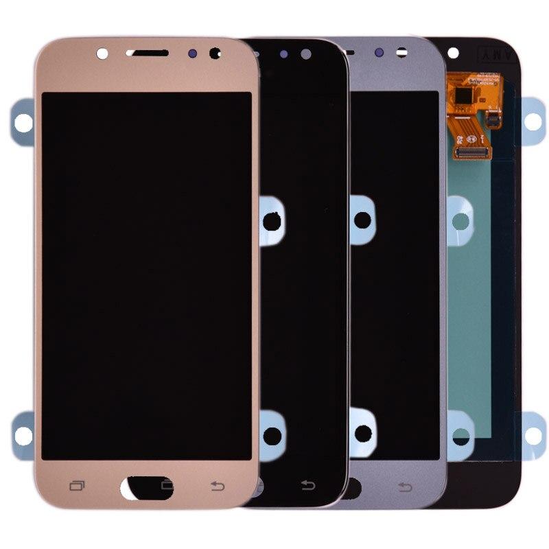 J530 AMOLED LCD pour Samsung Galaxy J5 2017 J530 J530F LCD écran tactile numériseur assemblée lcd pour J5 Pro 2017 J5 Duos