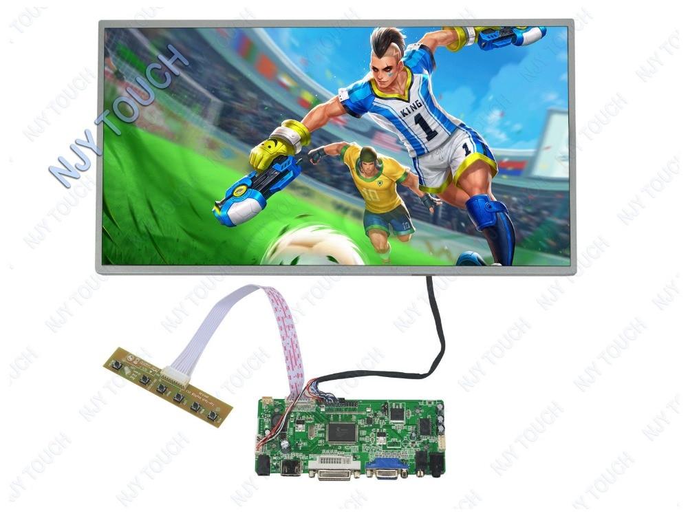 New M.NT68676.2A HDMI VGA DVI Audio LCD Controller Board Plus 15.6inch 1366x768 LP156WH4-TLB1 LED Monitor m nt68676 lcd led controller driver board for b116xw01 v 0 hdmi vga dvi audio 1366 768 pc
