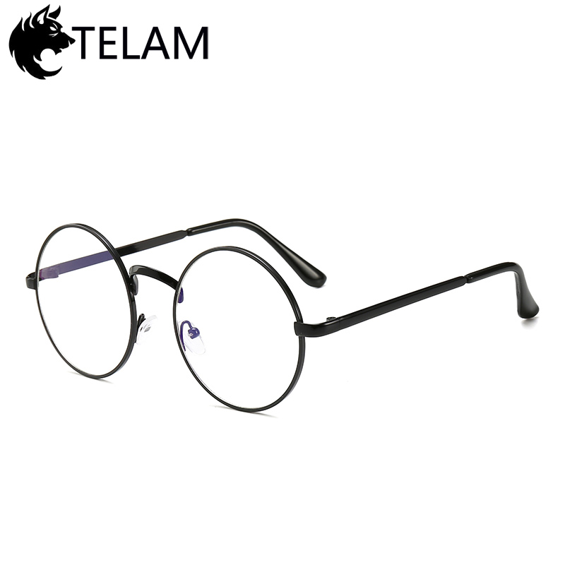 4223ea210b5 More info for Eyewear. 2019 Vintage Women Round Metal Clear Lens Glasses  Frame Trendy Unisex Nerd Anti-radiation Computer ...