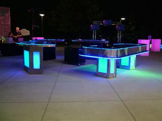 1 St * Uppladdningsbar IR fjärrstyrd multicolor RGB LED under - Nattlampor - Foto 6