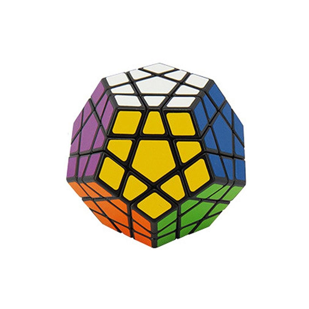 Coloré Professionnel Megaminx Magic Cube Stickerless Vitesse 12 Côtés Puzzle Cubo Magico Jouets Éducatifs Pour Enfants Megamind