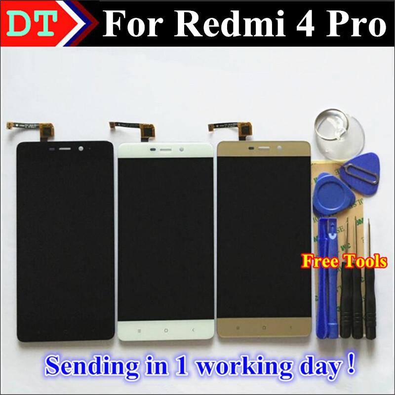 Prix pour Haute Qualité De Réparation Pour Xiaomi Redmi 4 Pro LCD Affichage et Écran Tactile Digitizer Remplacement Téléphone Assemblée Pour Hongmi 4 Pro