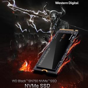 Image 5 - Western Digital WD שחור SN750 SSD 1 TB M.2 2280 SSD WDS100T3X0C NVMe Gen3 PCle 3D Nand עבור מחשב נייד SSD M.2