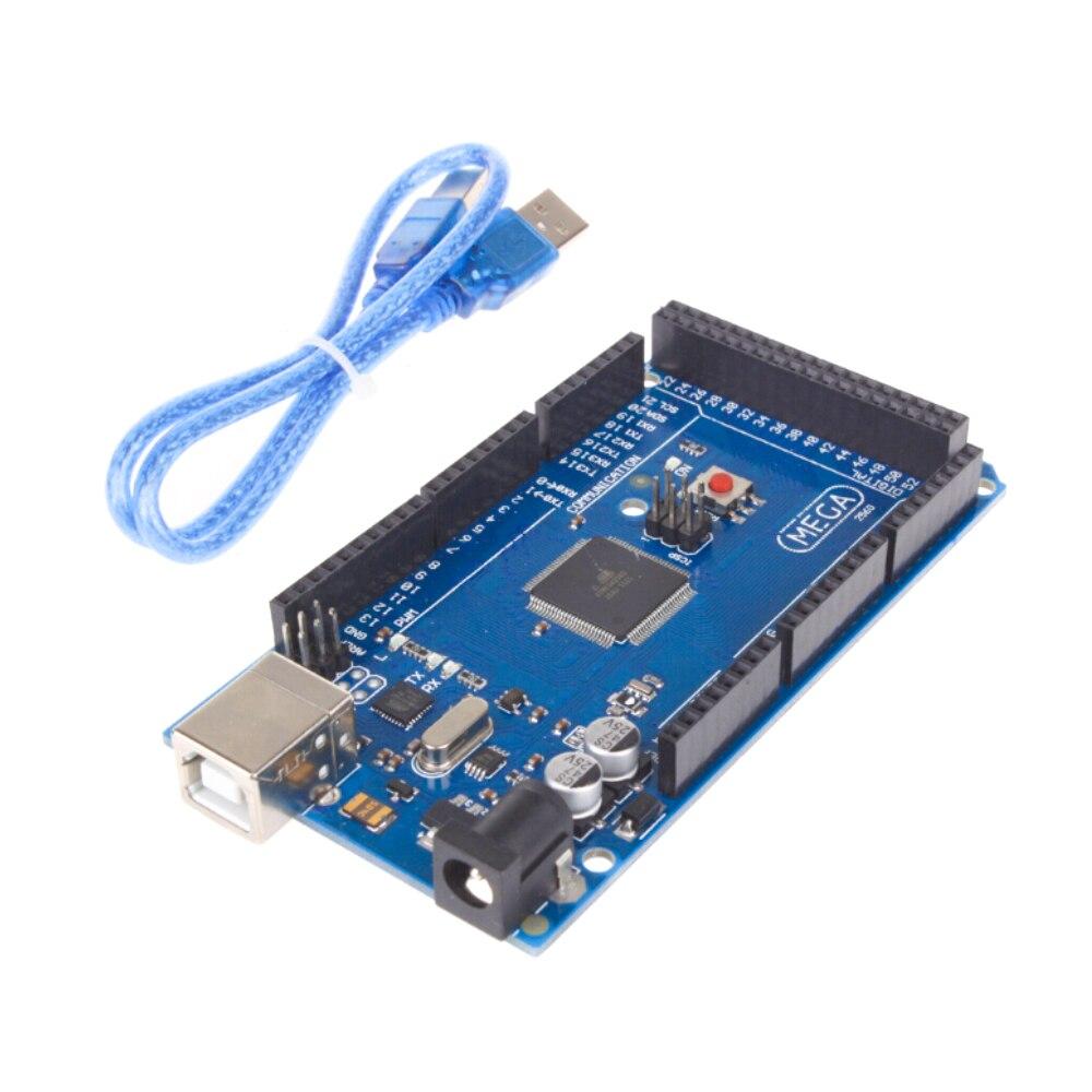 Płyta Mega 2560 R3 2012 wersja oficjalna z układem ATMega 2560 ATMega16U2 dla zintegrowanego sterownika Arduino z oryginalnym opakowanie detaliczne 5