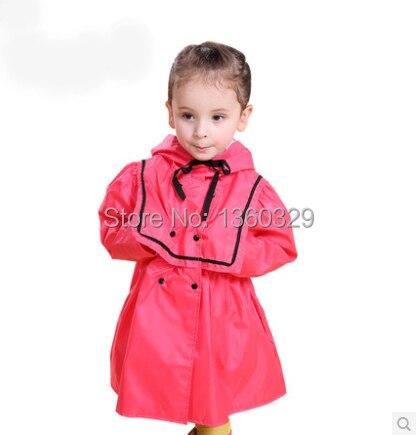 Regenbekleidung 58koreanischen Regen Stil Regenmantel Einfarbig Poncho BurberryKinder Baby Mantel Kleid Us29 Gelb Rot Prinzessin xBsodCthQr