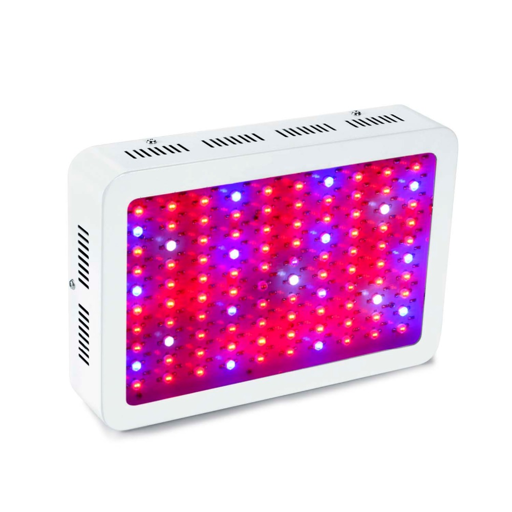 Best led grow light 1000W(100x10w) Double Chips 10W Full Spectrum LED Grow Lights For Indoor Plants Flowering And Growing 300 watt led grow light red blue good for medicinal plants growth and flowering