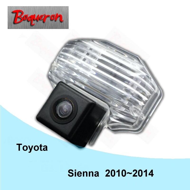 BOQUERON for TOYOTA Sienna MK3 2010~2014 HD CCD Waterproof Car Camera reversing backup rear view camera