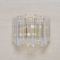 new design wall sconce modern wall LED light AC110V 220V gold wandlamp living room bedside lights