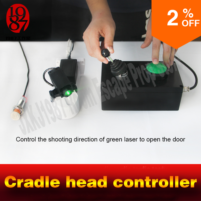 Room escape adventurer game props cradle head controller adjust moving lasers open lock to escape from chamber room takagism from the cradle to enslave виниловая пластинка
