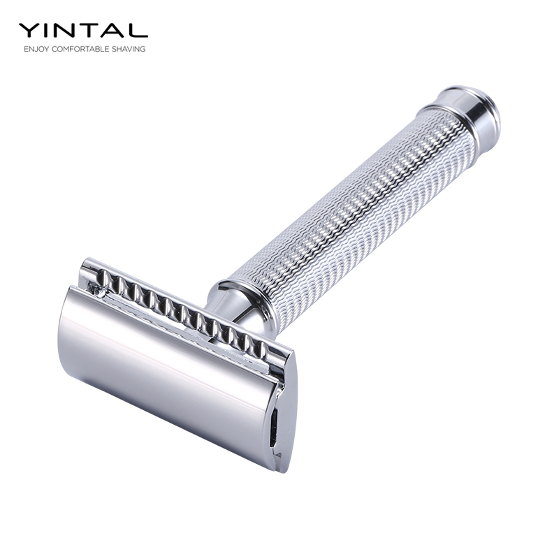 Stainless Steel Double Edge Razor Shaving For Metal Men's Classic Manual Razors Dual Edge Shaver