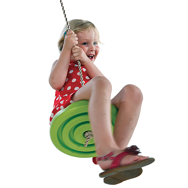 Kids Slackers Swing Seat Glowing Night Riderz Led Disc Flying Saucer Swing Set With Zipline Outdoor Toys Flying Saucer Swing