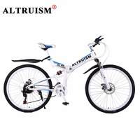 Altruism X6 Mountain Bicycles Steel Bmx 26 Inch 24 Speed Bicicleta Full Suspension Bikes Mens Bisiklet