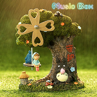 Creative Sky City Music Box Children's Birthday Gift For Elise Music Box Holiday Gifts Home Desktop Decoration