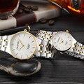 2017 casais de amantes assistir chenxi quartzo estilo relógios de luxo mulheres vestido de ouro de prata cinto de malha senhoras relógios de pulso de luxo