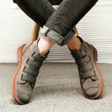 Купить с кэшбэком Spring/autumn adult men shoes basic casual shoes military boots ankle men boots