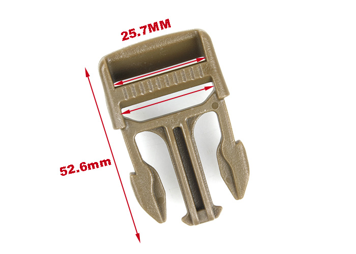 airsoft accessories Tactical Vest buckle outdoor backpack Bag buckle G X-CON Quick Attach MOLLE Bukle 1 inch for hunting (8)