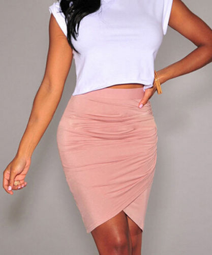 5d2121cf9a Hot Sale Women's Slim Fitted Knee Length Skinny Straight Pencil Skirt High  Waist Career Fashion Off Ladies Pecil Skirts