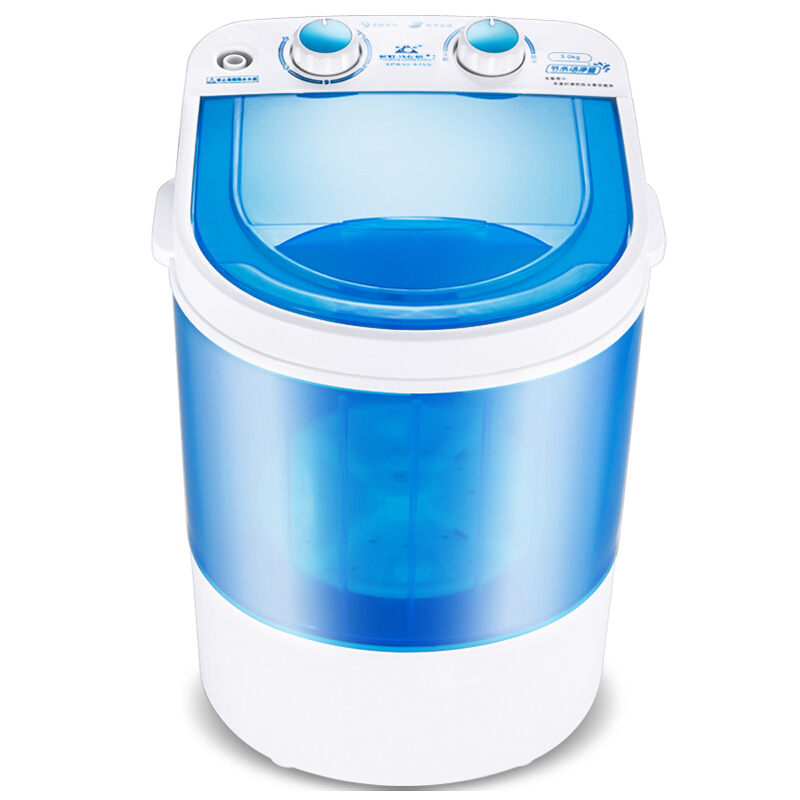 Mini Hand Shake Washing Machine Fully automatic 3KG Household Small Baby Wave Wheel Compact Washing Machine Home Travel Dual Use|Washing Machines| |  - title=