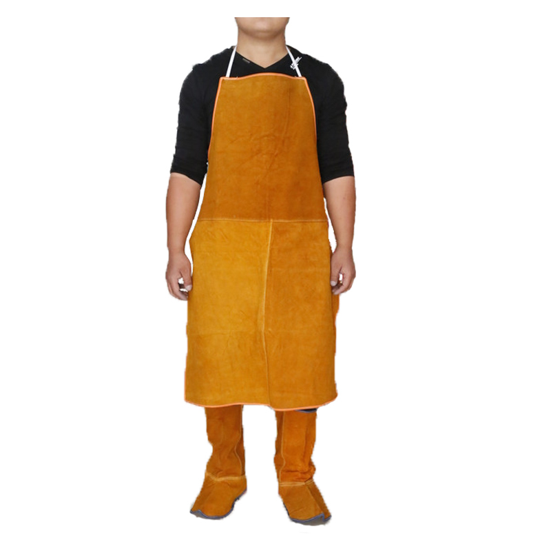 New 24x36 Leather Welding Apron Flame Resistant Cow Leather Work Clothes For Welding Carrying Safety ApronNew 24x36 Leather Welding Apron Flame Resistant Cow Leather Work Clothes For Welding Carrying Safety Apron