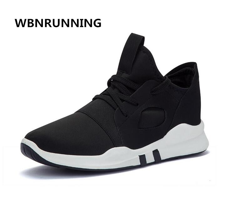 WBNRUNNING Free Shipping 2017 autumn new ladies couple sports font b shoes b font comfortable breathable