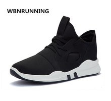 WBNRUNNING Free Shipping 2017 autumn new ladies couple sports shoes, comfortable breathable white lace running shoes model135