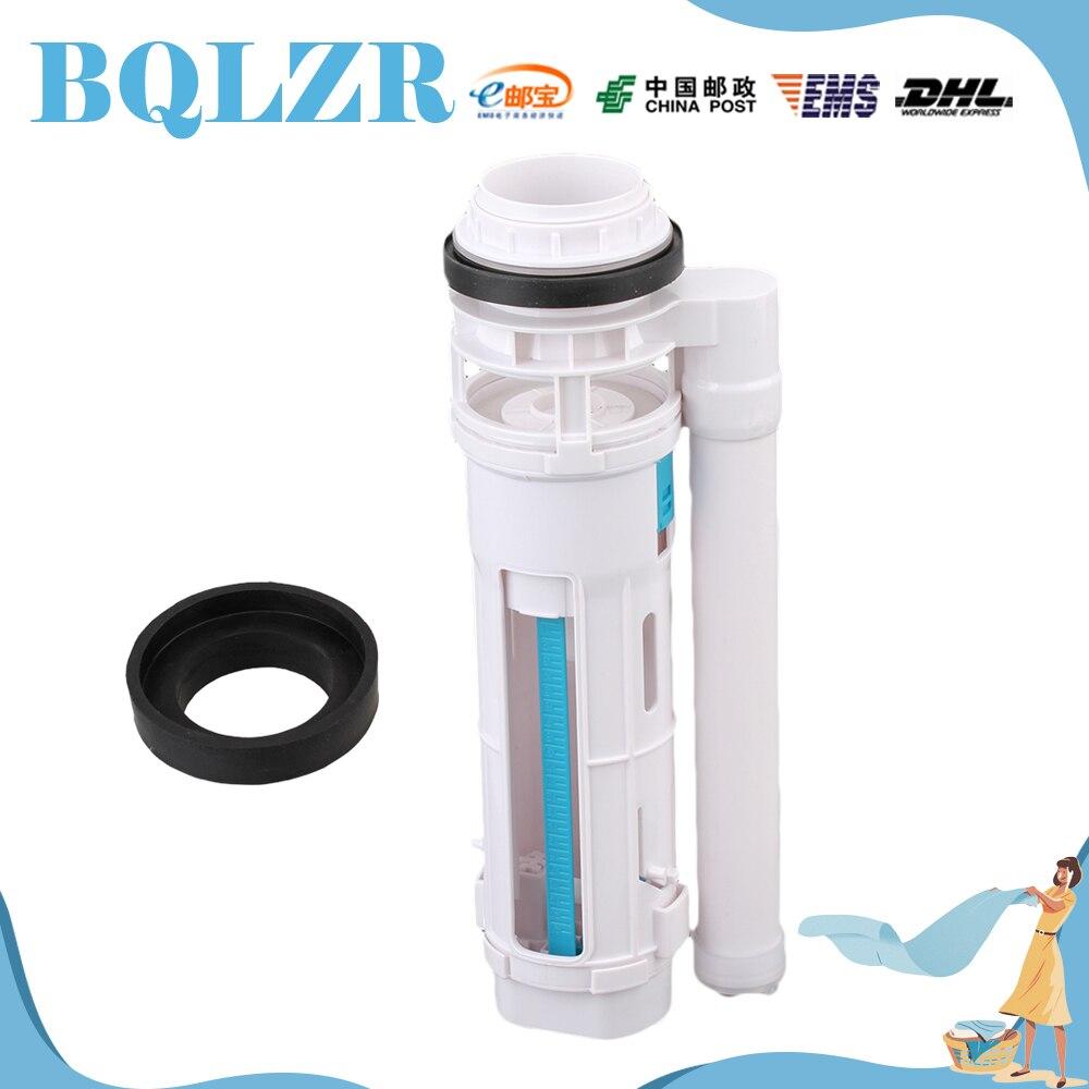 Bathroom cistern fittings - Bqlzr Toilet Bottom Inlet Fill Valve Split Push Button Dual Flush Cistern Syphon 29cm China