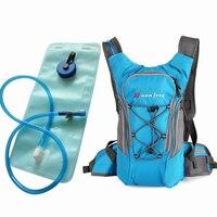 Outdoor Sport Hydration Backpack + 2L PEVA Water Bladder Bag For Cycling Hiking Traveling Water Carrier Bag Running Knapsack