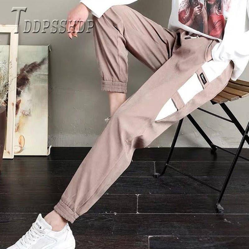 2019 Spring Summer Sweatpants Casual Slim Women Harem Pants Trendy Female Trousers