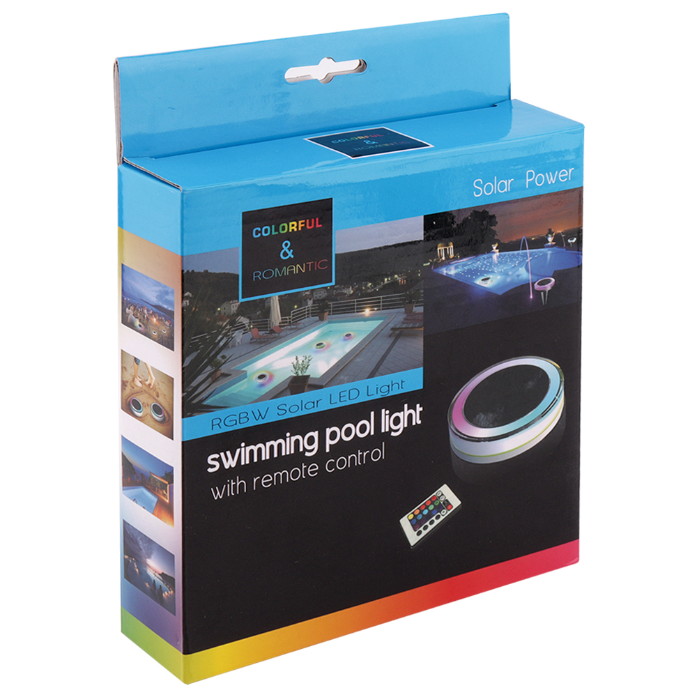 controle remoto à prova dwaterproof água paisagem luzes