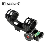 ohhunt 25.4mm 30mm Picatinny Weaver Rings 20 MOA Scope Mount Extended Scope Ring Mount with Angle Cosine Indicator Kit