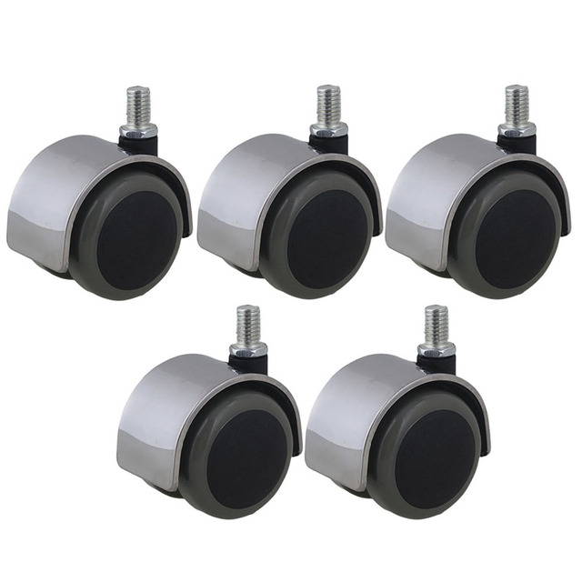 Office Chair Swivel Casters Furniture Wheels Thread Stem Replacement For Sofa Bed Goods Shelf Storage