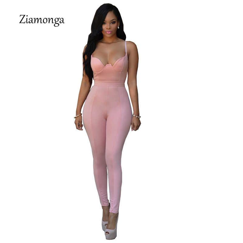 Сексуальный глубокий v-образный вырез облегающие комбинезоны 2017, женская обувь из искусственного кожаные комбинезоны Для женщин s Комбинезон Комбинезоны черные длинные брюки элегантное боди