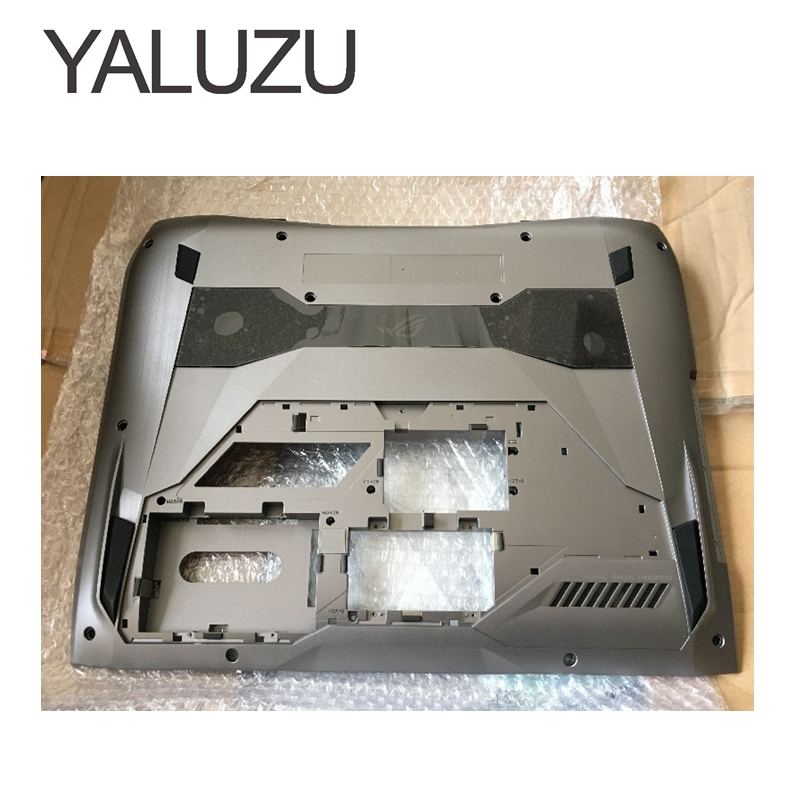 YALUZU new for ASUS G752 G752V Bottom Base Case Cover Chassis low case G752VM G752VS G752VY G752VT 13N1-08A0101 13NB0D71AP0101 gzeele new laptop bottom base case cover for hp for elitebook 8560w 8570w base chassis d case shell lower case 652649 001 black