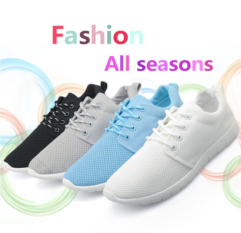 Women Breathable Mesh Shoes Size 35-40 Fashion Women Casual Shoes Zapatillas Deportivas Trainer Free Shipping Ladies Shoes YD85 (5)
