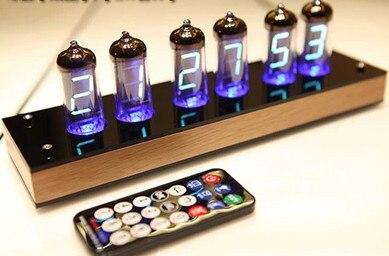 FREE SHIPPING IV-11 Fluorescent Tube VFD Electronic Clock